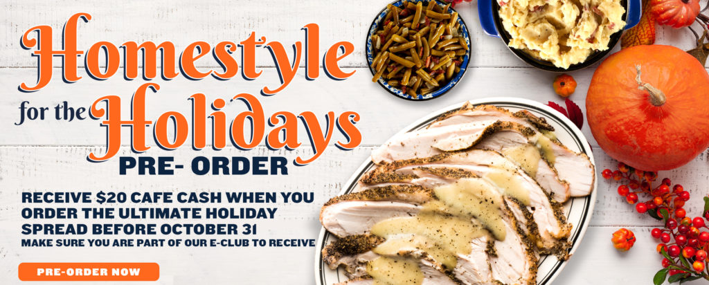 Homestyle for the Holidays Pre-Order available today