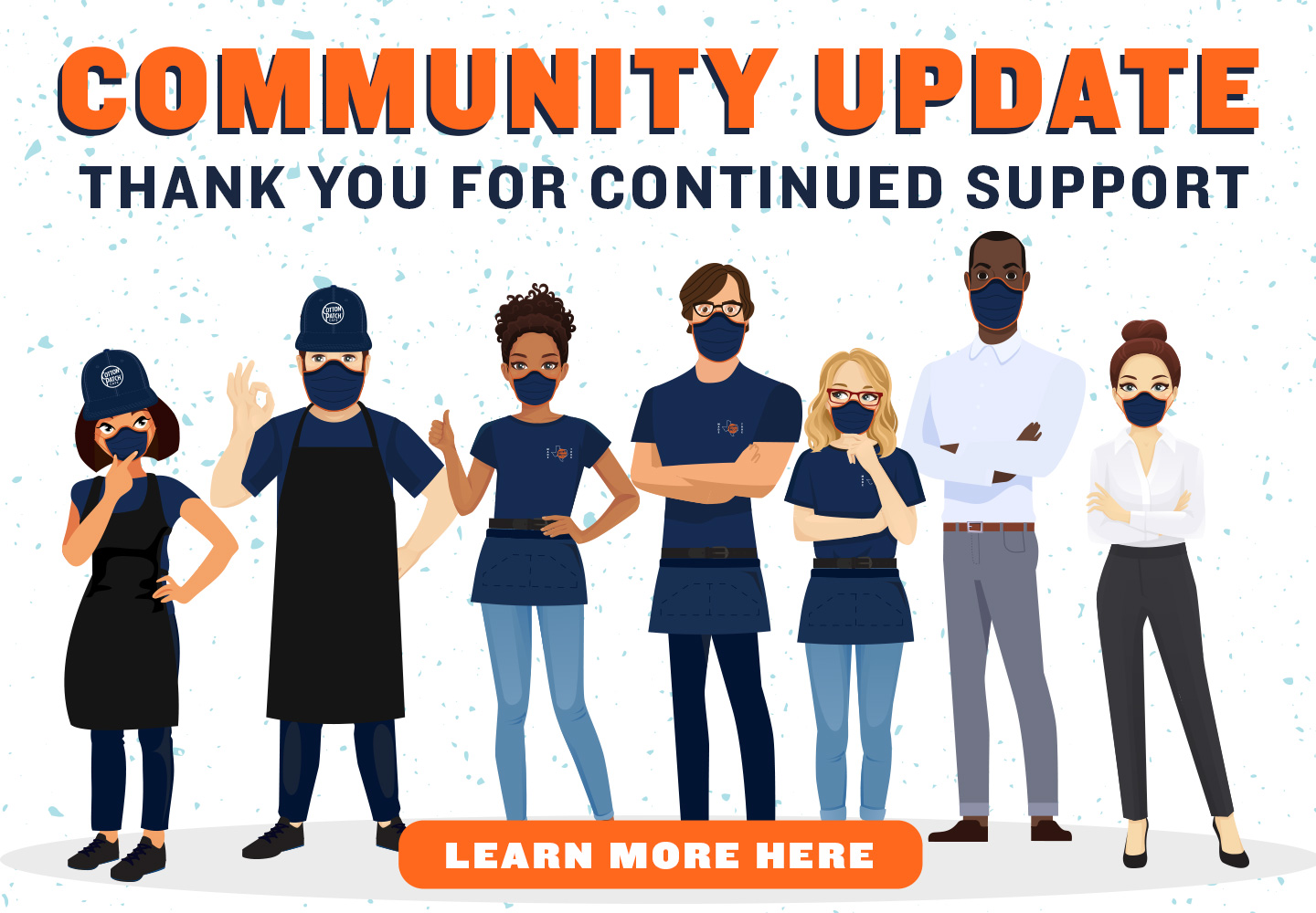Community Update: Thank you for continued support!