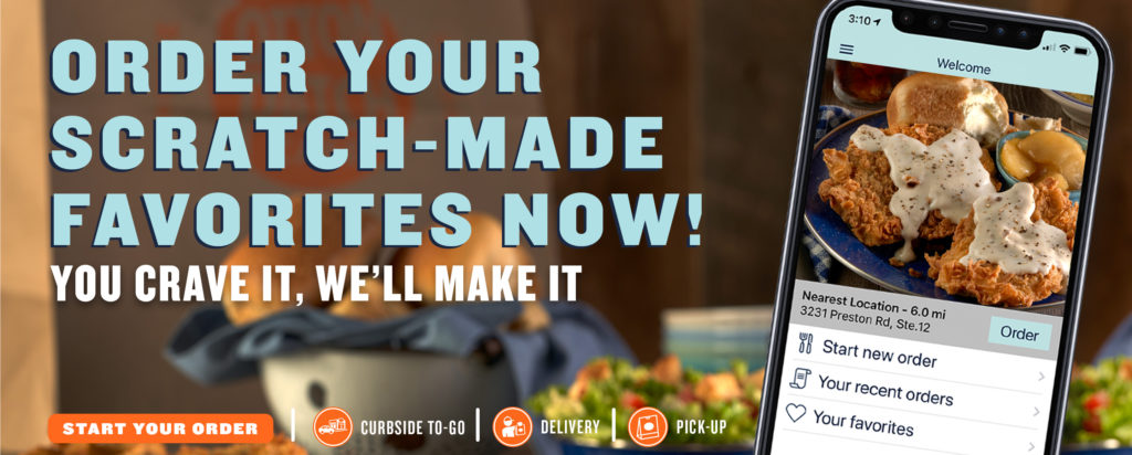 Order your scratch-made favorites Now!
