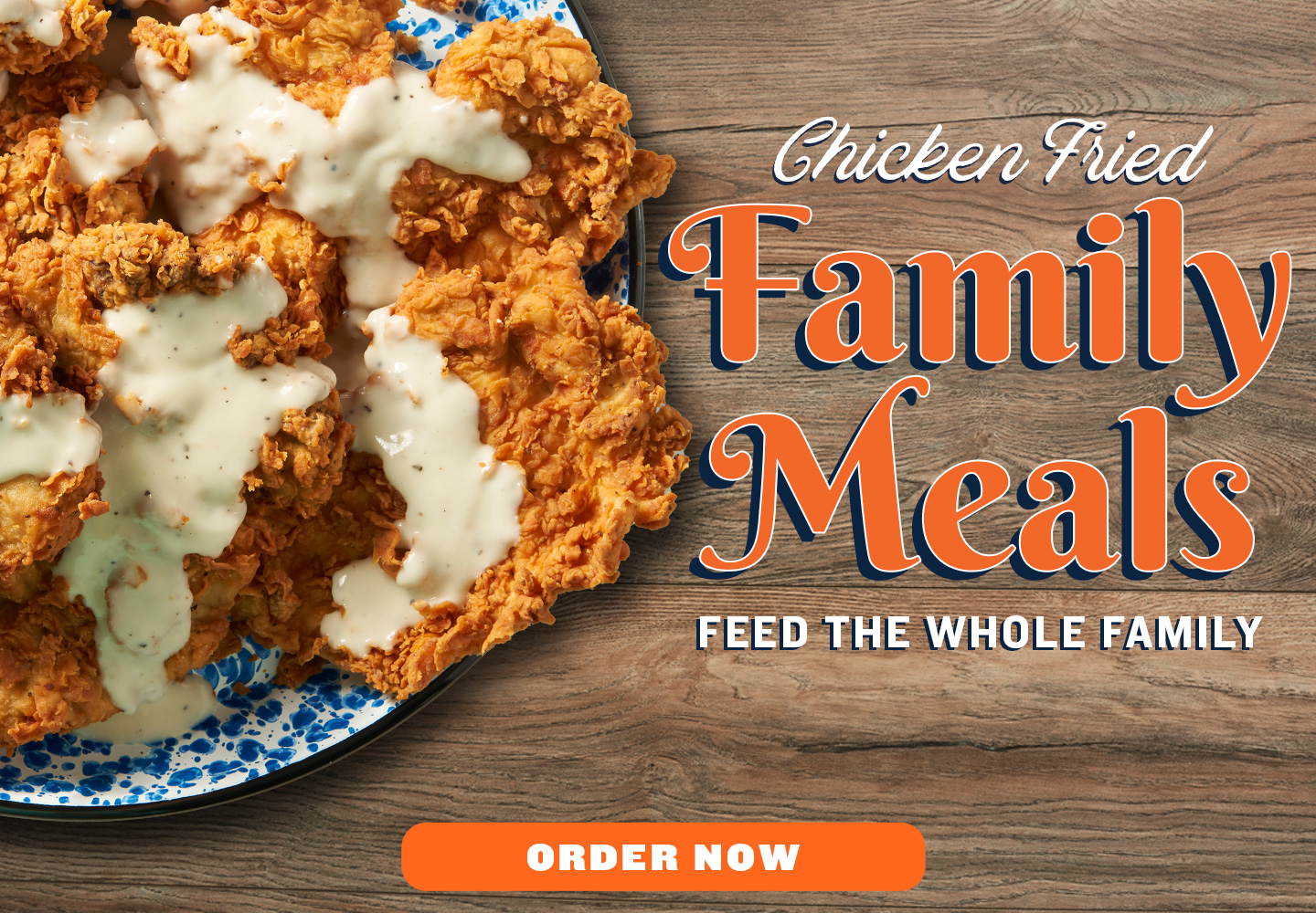Chicken Fried Family Meals! Feed the whole family!