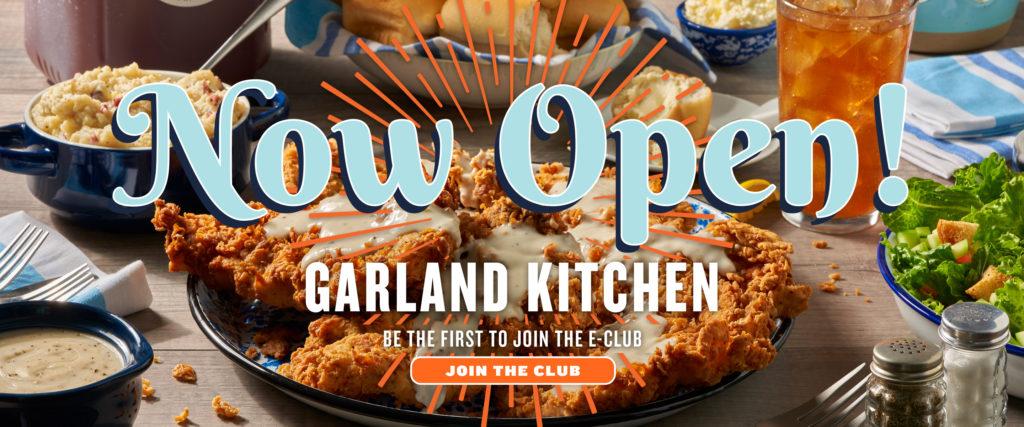 Garland Kitchen Now Open!
