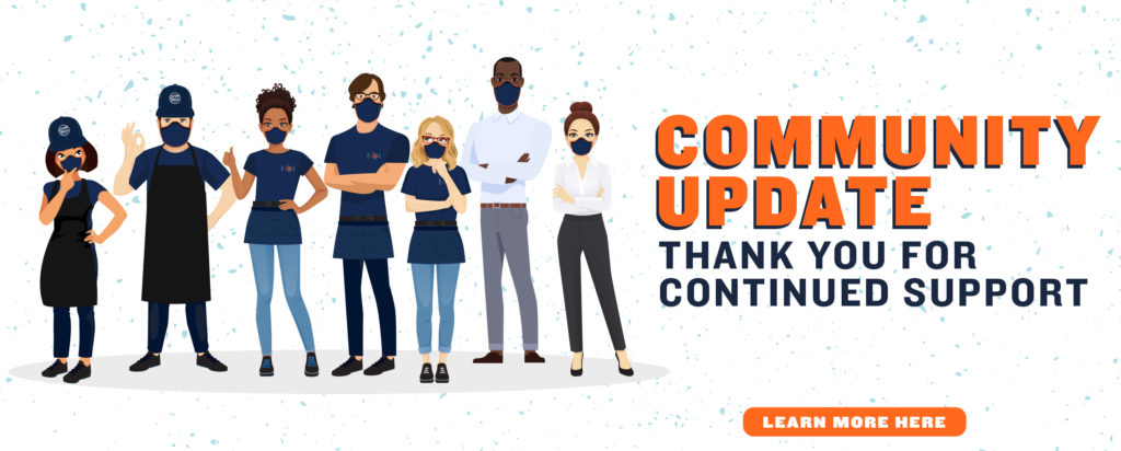 Community Update: Thank you for your continued support
